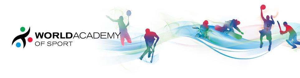 world academy of sport world sport s education partner